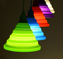 2015 hot selling modern house decoration candy color eco friendly droplights