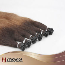 qingdao Wholesale ombre blonde fusion Pre bonded hair extension