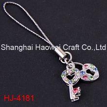 HJ-4181 Latest arrival all kinds of smart phone charm jewelry on sale