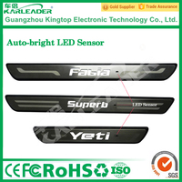 LED car door sill plate light/LED car door welcome step light/car pedal with LED light for volkswagen