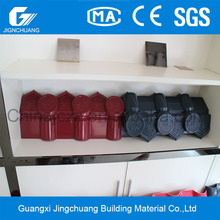 light weight colored coated synthetic resin roof tile