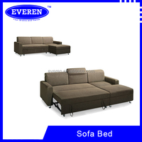 Modern Design L shape Sofa cum Bed with storage