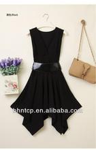 bhn339 2014 abito stile coreano con cintura stocklot disponibili