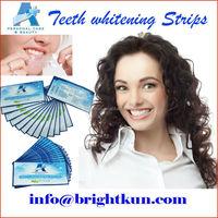New design Foil Bag Teeth Whitening Strips, Hot Sale Crest Whitening Strips