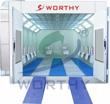 Standard Type W-3100A Infrared Spray Booth