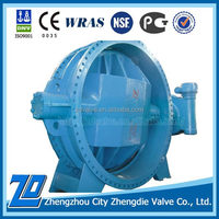 China manufacturer of DN2400 butterfly valve weight