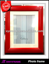 Chinese Red Modern Design Picture Frames Bargain Picture Frames