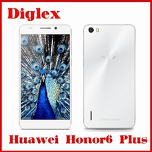 Original Huawei Honor 6 Plus Kirin 920 Octa Core 1.7GHz 4G FDD LTE 3GB RAM 5Inch FHD 1920x1080P 13MP Android 4.4 Dual SIM Phone