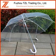 2015 chinese wholesale cute umbrella rain transparent