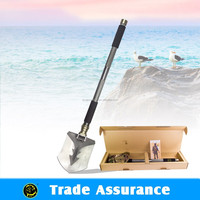 OUTDOOR multifunction folded tactical survival gear unique camping euipment ,utility camping shovel