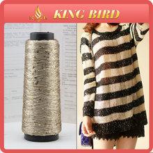 china fancy yarn 3mm sequin yarn / paillette yarn for knitting