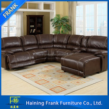 2015 European fashion boutique Living room furniture sectional sofa