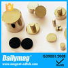 Gold Coating Strong Permanent Neodymium Disc Magnet