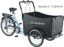 moderna bicicleta de carga nexus 3 velocidades de três rodas de carga do pedal da bicicleta