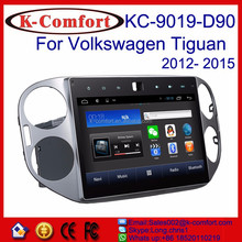 K-comfort Android car dvd audio navigation for Volkswagen Tiguan with SWC GPS +Radio +RDS BT+SD +USB CD/DVD IPOD Aux-in 10.2inch