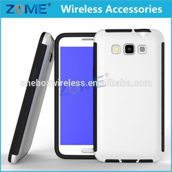 Best Selling Mobile Phone Accessory Cover For Samsung G7200 Wrap Up Combo Built-in Screen Full Body TPU Case