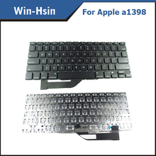 100% new laptop keyboard for mac book pro retina a1398 us version keyboard 2012 year