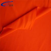 orange or other colors glow in the dark fabric for safty and night clothes from Haining China manufacturer