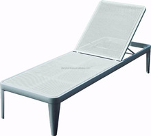 Hot Sale Fancy Facoty Price Stackable Aluminum Patio Sun Lounger/Beach Bed