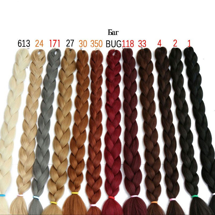 Best Selling Products Japanese Synthetic Hair Weave Synthetic Hair