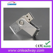 new wholesale promotional gift crystal usb flash drive/usb pen drive crystal