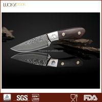 Damascus Pakistan knives with pakkawood handle