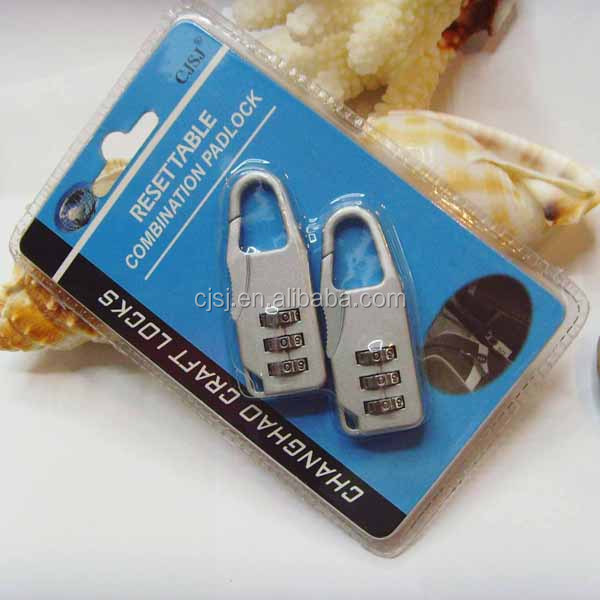 Travel product 3 numeric safety advanced digital lock