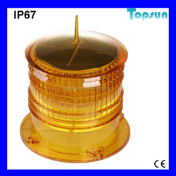 High quality Water proof Long visibility distance LSW-302 solar power fishnet lamp/warning beacon/marine light