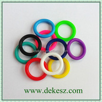 2015 hot-sale colorful rubber o rings for jewelry