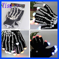 2015 Fashion Unisex LED Lighting Flashing Gloves