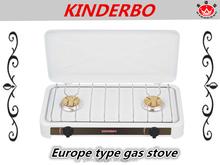 JK-002SD two burner counter top gas kitchen powder coating gas kitchen