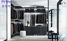 Custom Bedroom Wardrobe Closet, Shoe Cabinets accept T/T
