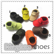 star cow leather soft sole toddler genuine leather baby shoes for boy