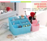 Home use plastic storage box,multi-function desktop sundries storage container at good price