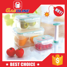 Super quality elegant plastic food box with four compartment