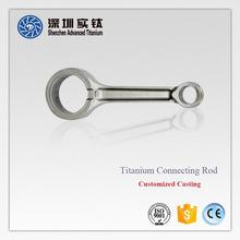 Titanium car engine/ air compressor/ h-beam connecting rod, heater, bushing