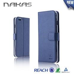 Innovative Cell phone case matt feeling pu leather Flip case for iphone 6