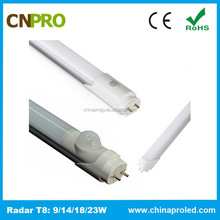 New Designed Pir Motion Detect LED Tube Lights Price in China for Car Parking Lots CE ROHS
