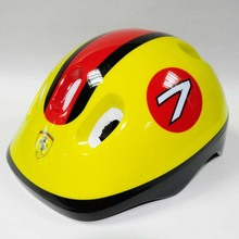 6 Vents White EPS Kids Protective Funny Bike Helmets
