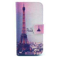 concise and vogue case for iPhone 5c Kickstand Stitch Painted patterns Classic look PU Leather cover