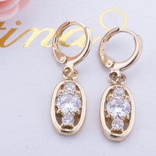 10-30mm copper alloy Plated golden medicated earring designs for women