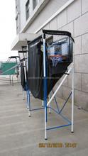 Basketball Backboard w/ Net and Ball Return/ Basketball Frame