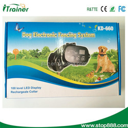 wire fencing dog kennel Pet Electronic Fencing System invisible dog fencing system for outdoor