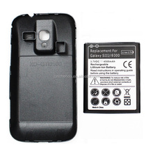4500mAh External Extended Battery for Samsung S3 i9300 Replacement Phone battery with Battery Door Back Cover