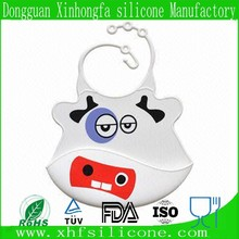 Toddler accept customization silicone baby bib crumb food catcher
