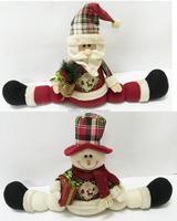 Christmas Decoration Santa / Snowman Draft Christmas Door Stopper