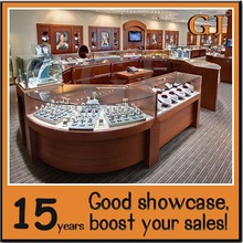attractive styles of jewelry shop showcase and kiosk with innovation design
