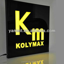 led message sign for car