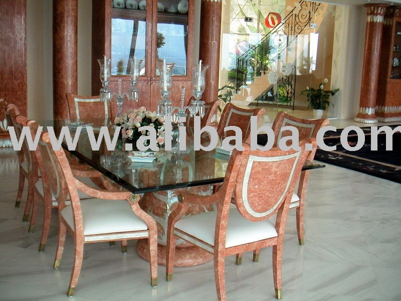Luxury marble furniture from germany buy dining room