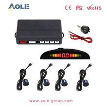 Hot sale 4 Parking Sensors LED Display Car Backup Reverse Radar System Kit Sound Alert car parking sensor system China factory